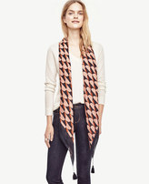 Ann Taylor Scalloped Scarf
