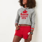 Roots Summer Cabin Cropped Hoody