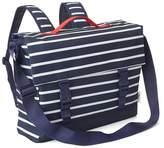 Print convertible messenger bag