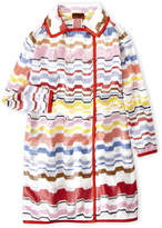 Missoni Girls 7-16) Wavy Print Trench Coat