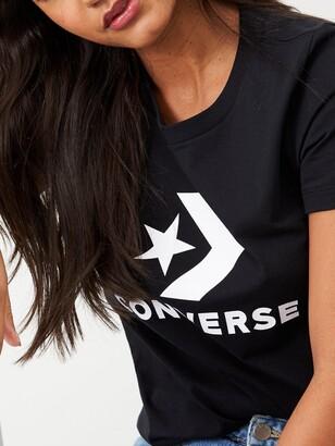 Converse Star Chevron Tee - Black