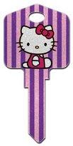 Hello Kitty Glitter Schlage House Key (SC1-SR10)