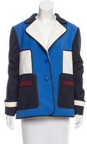 Escada Wool Colorblock Blazer w/ Tags