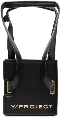 Y/Project Accordion-Style Leather Shoulder Bag