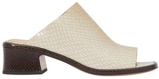 Dries Van Noten Croc leather mules