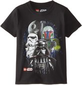 Lego Star War Little Boys' Vader In Front T-Shirt