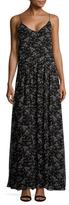 Jill Stuart Taw Printed GeorgeIe Maxi Slip Dress