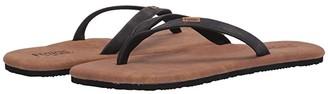 Flojos Fiesta Extra (Black) Women's Sandals