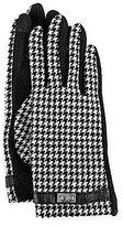 Lauren Ralph Lauren Houndstooth Touch-Capable Gloves