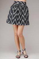Flounce Skirt In Indigo