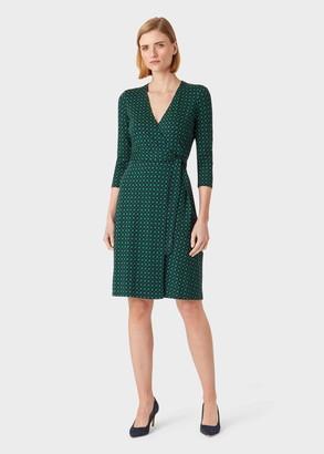 Hobbs Delilah Jersey Wrap Dress