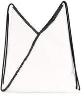 MM6 MAISON MARGIELA drawstring backpack - women - Cotton/Viscose - One Size