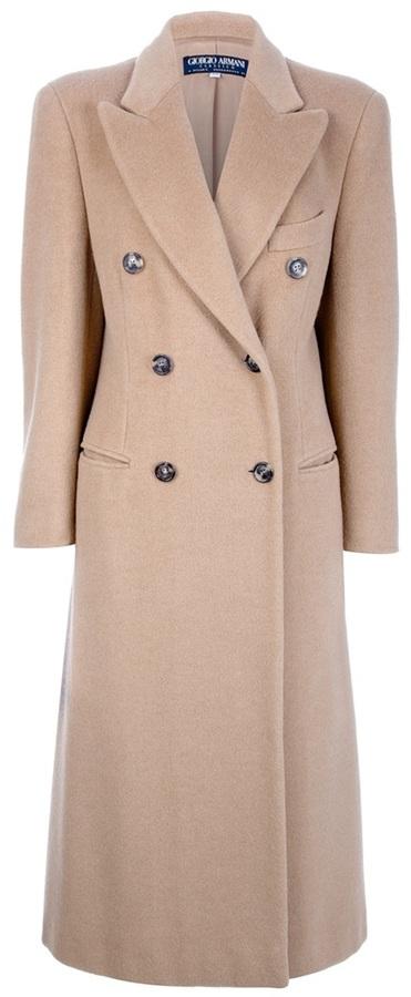 Giorgio Armani Vintage classic coat