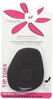 Foot Petals Poron Black Ball of Foot Cushion