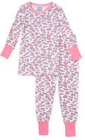 Baby Steps Leopard Cotton Pajama Set