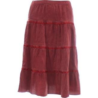 Calypso St. Barth \N Burgundy Silk Skirt for Women
