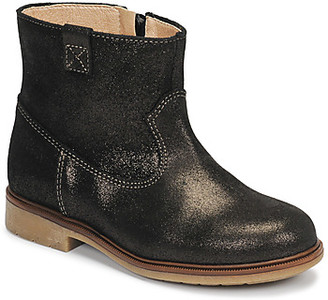 Pablosky Kids 475157 girls's Mid Boots in Brown
