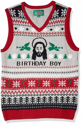 Ugly Christmas Sweater Company Ugly Christmas Sweater Men's Birthday Boy Vest