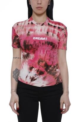 MSGM Tie Dye Dream Print T-Shirt