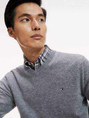 Tommy Hilfiger Lambswool V-Neck Jumper