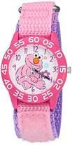 EWatchFactory Girl's 'Sesame Street' Quartz Plastic and Nylon Automatic Watch, Color:Pink (Model: W003210)