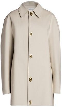 Bottega Veneta Double-Faced Cotton Convertible Jacket