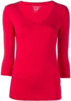 Majestic Filatures three-quarter sleeve T-shirt - women - Spandex/Elastane/Viscose - 2