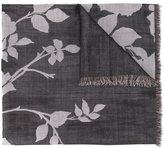 Elie Saab 'English Garden' scarf - women - Silk/Wool - One Size