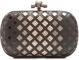 Bottega Veneta Knot water-snake clutch