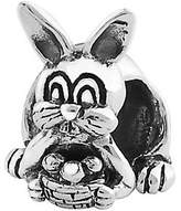Prerogatives Sterling Easter Bunny with BasketBead