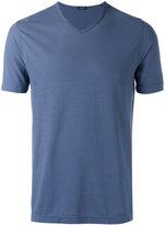 Zanone plain T-shirt - men - Cotton - 50