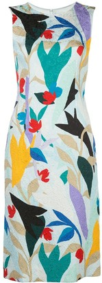 Prabal Gurung floral-print sleeveless sheath dress