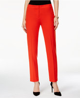 Kasper Kristy Straight-Leg Crepe Pants