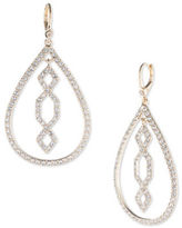 Ivanka Trump Crystal and 10K Gold-Plated Tear Drop Earrings