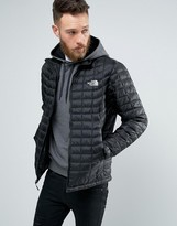 The North Face Thermoball Jacket Quilt In Black