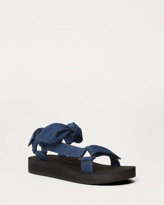 Loeffler Randall Maisie Sporty Sandal Denim