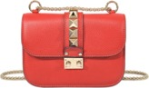 Valentino Garavani Red Mini Lock Bag