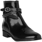 LK Bennett L.K.Bennett Bennett Ava High Shine Chelsea Boots, Black Leather