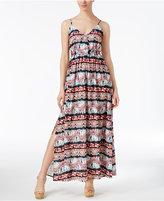 BB Dakota Agnes Printed Maxi Dress