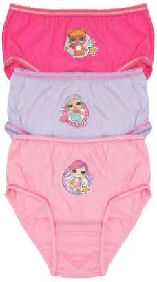 M&Co Lol Surprise briefs three pack (4-10yrs)