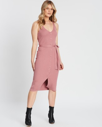 Atmos & Here Julianna Button Knit Dress