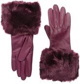 Ted Baker Emree Faux Fur Cuff Gloves