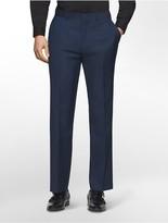 Calvin Klein Classic Fit Navy Plaid Suit Pants
