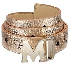 MCM Women's Claus Reversible Belt