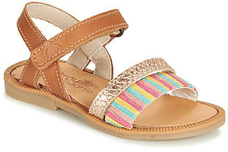 Citrouille et Compagnie JIRIFI girls's Sandals in Brown