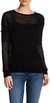Dex Open Knit Long Sleeve Sweater