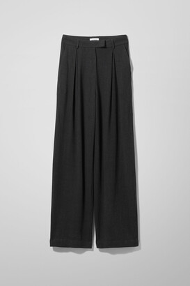 Weekday Lilah Trousers - Black