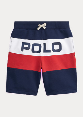 Ralph Lauren Logo Cotton French Terry Short
