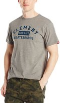 Element Men's For Life Short Sleeve T-Shirt, Grey Heather