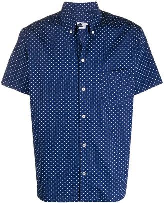 Anglozine Polka Dot Short-Sleeve Shirt